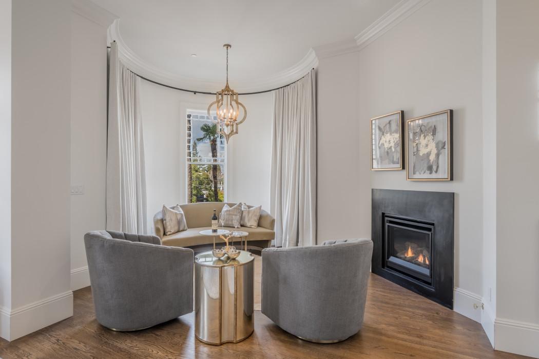 Room 201 - California King fireplace